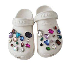 🎉HOST PICK🎉 Croc Shoe Rhinestone Charms